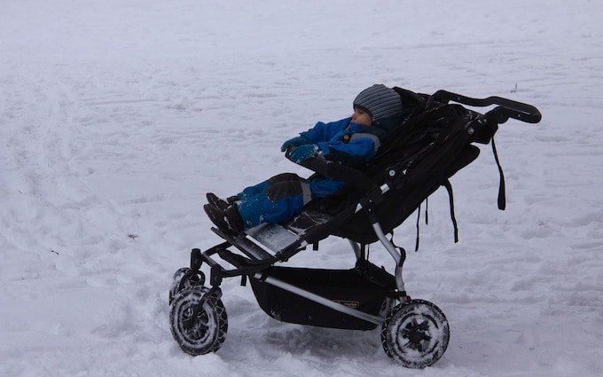 All-Terrain Double Strollers for Infants and Toddlers