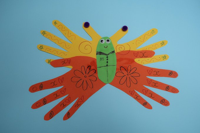 Butterfly Hand Craft