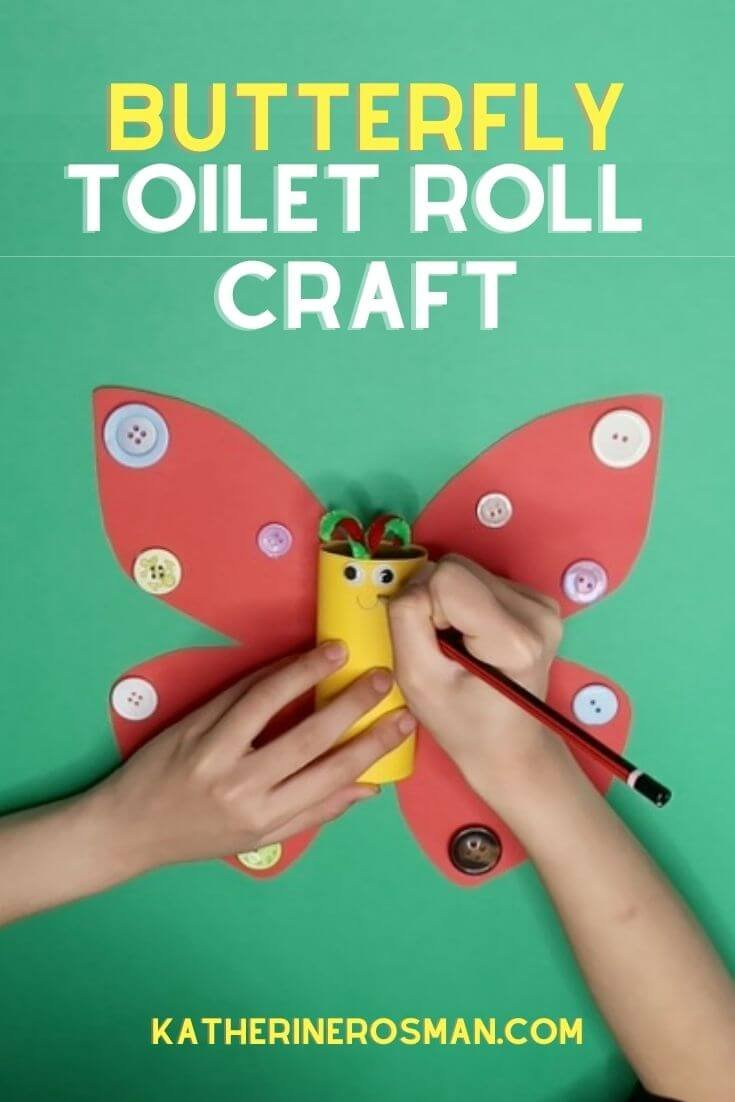 Butterfly Toilet Roll Craft for Toddlers