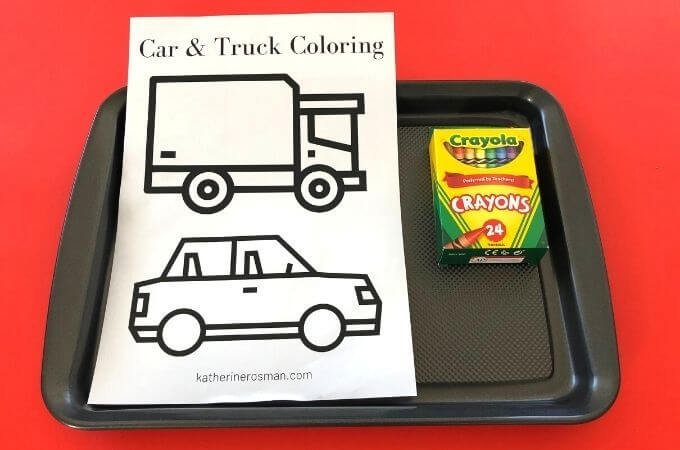Car and Truck Coloring Advanced
