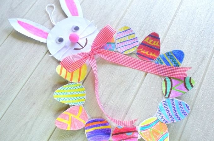 Complete Easter Egg Wreath Craft