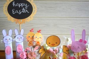 Easter Candy Craft Activity for Kids