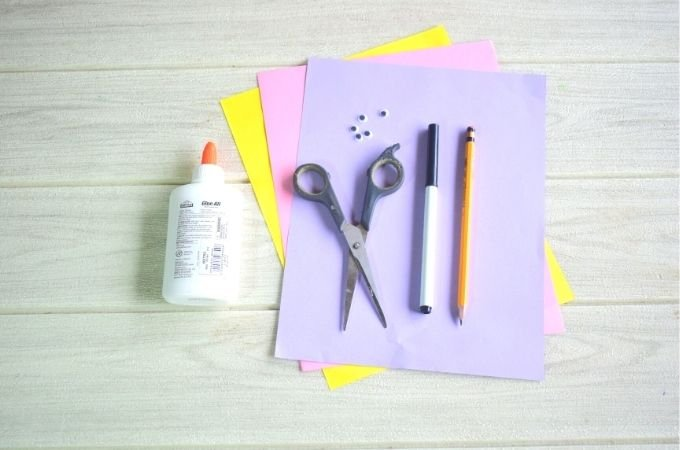 Easter Cards Craft Materials