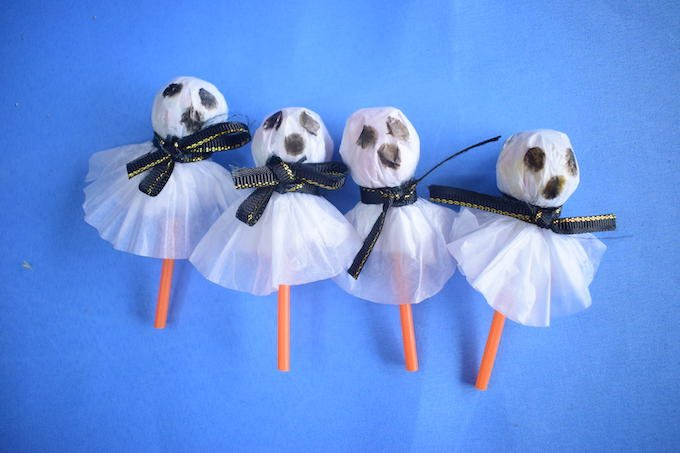 How to Make Lollipop Ghost Crafts