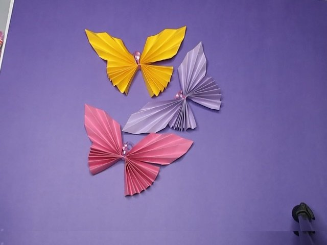 How to Make a Butterfly Paper Craft