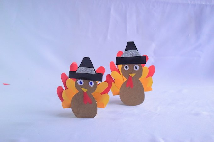 How to Make a Toilet Paper Roll Turkey Craft