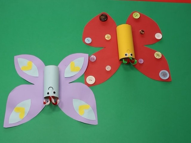 How to Make a Toilet Roll Butterfly Craft