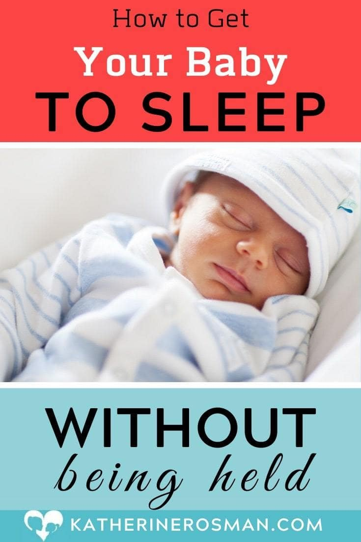 How to get newborn to sleep without being held
