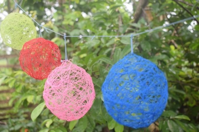 How to make String Easter Eggs