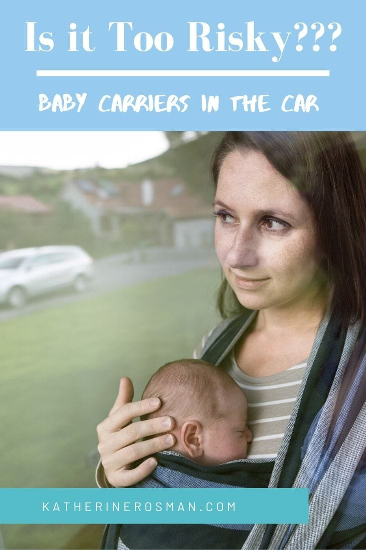 baby carrier in car