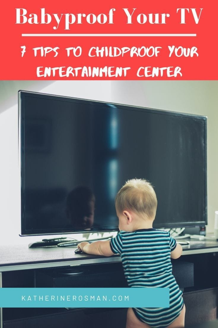 baby proof entertainment center