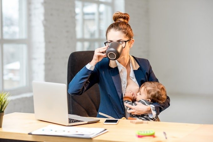 benefits of breastfeeding for working mom
