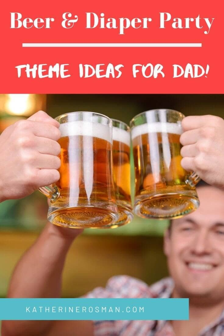 diaper party ideas for dad