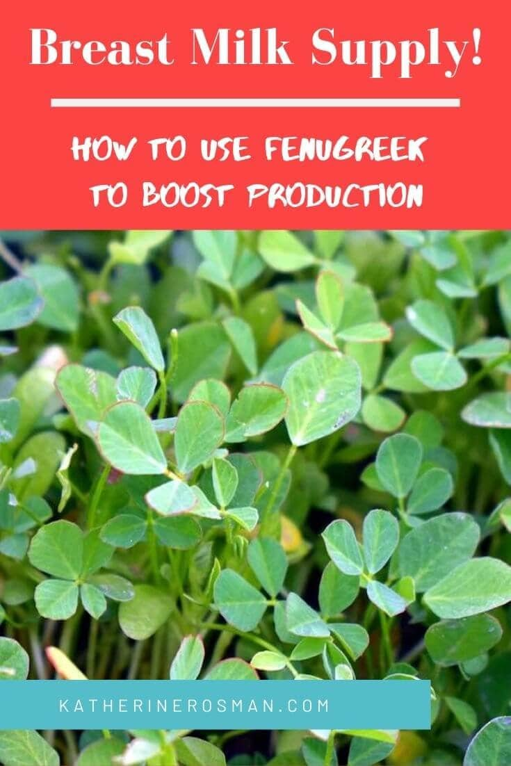 how long does it take fenugreek to increase milk supply