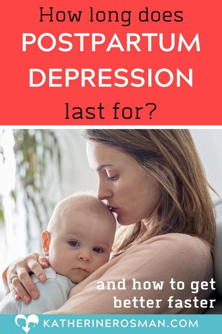 how long to recover from postpartum depression