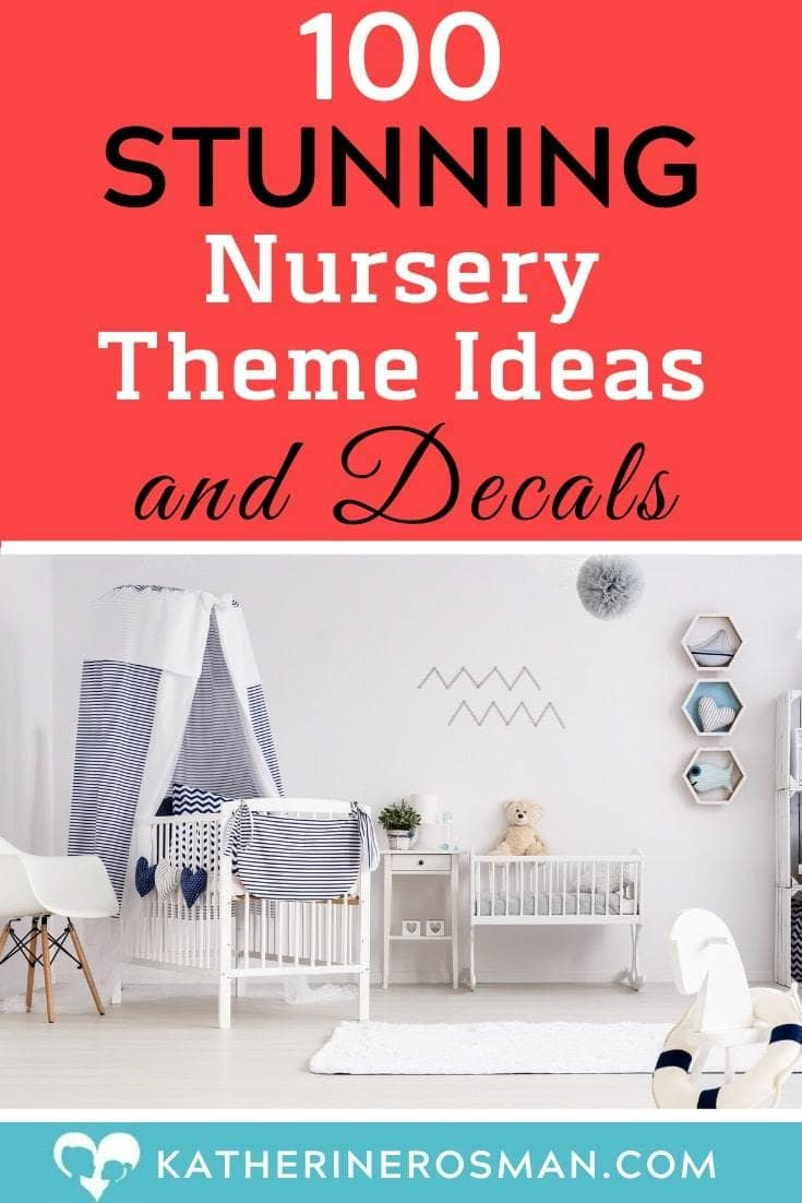 nursery theme ideas and decals