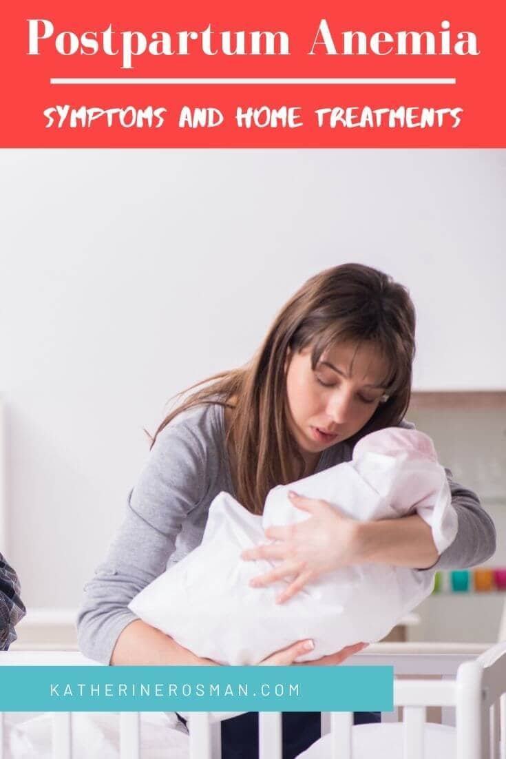 postpartum anemia signs and symptoms
