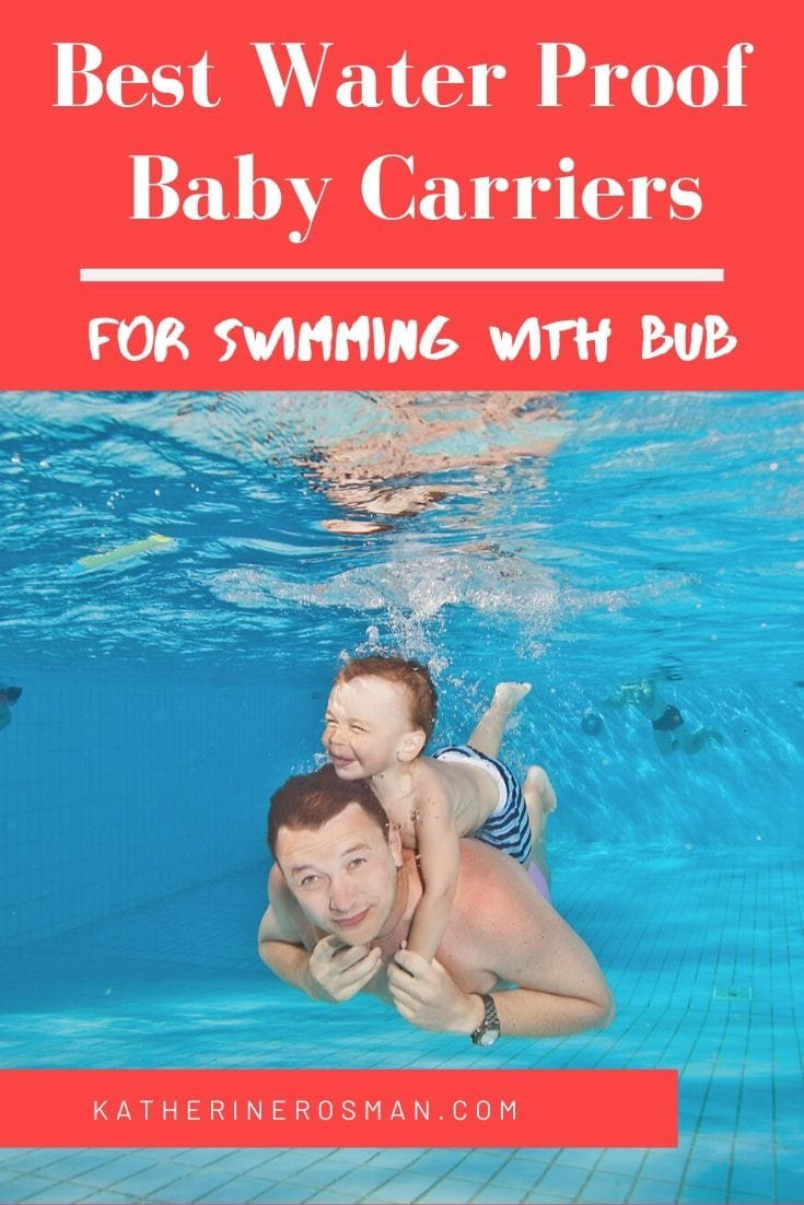 waterproof baby carrier for swimming pool